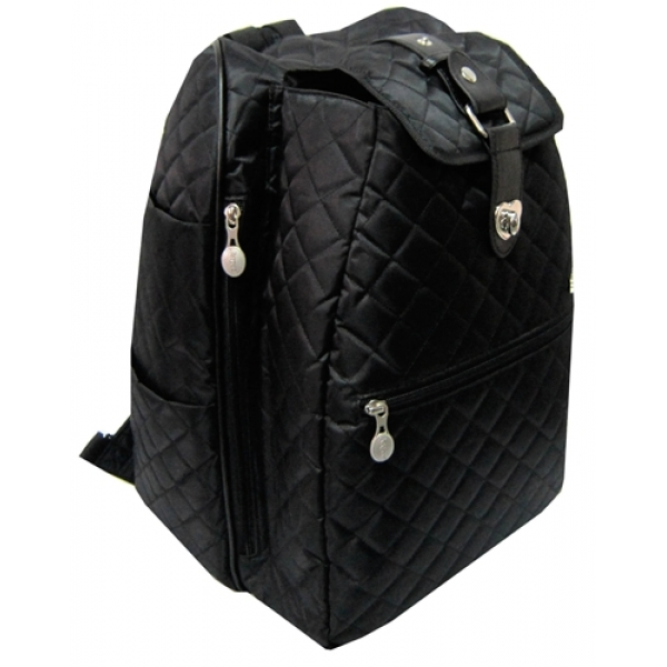 Jet Black Ritz Cooljet Tennis Bag
