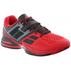 Babolat Men's Propulse BPM All Court Tennis Shoe (Black/ Red) - Babolat Propulse Tennis Shoes