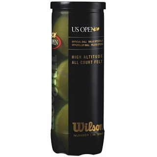 Wilson US Open High Altitude Tennis Ball Can (3 Balls)