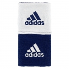 Adidas Interval Reversible Wristband-Small (Collegiate Navy/White) -