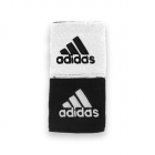 Adidas Interval Reversible Wristband-Small (Black/White) -