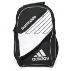 Adidas Barricade III Tour Racquet Backpack (Black/ White) - Tennis Bag Brands