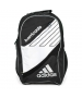 Adidas Barricade III Tour Racquet Backpack (Black/ White) - Tennis Racquet Bags