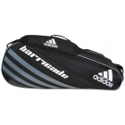 Adidas Barricade IV 3 Pack Tennis Bag (Black/ Grey/ White) - Tennis Racquet Bags