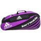 Adidas Barricade IV 6 Pack Tennis Bag (Pink/ Black/ White) - Adidas Tennis Bags