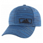 Adidas Men's Amplifier Plus Stretch Fit Cap (Core Blue/Looper Print) - Adidas Tennis Caps & Visors