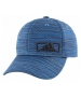 Adidas Men's Amplifier Plus Stretch Fit Cap (Core Blue/Looper Print) - Tennis Hats