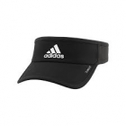 Adidas Men's Superlite Visor (Black/White) - Tennis Hats