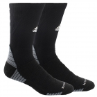 Adidas Men's Alphaskin Max Cushioned Crew Tennis Socks (Black, White, Onix) -