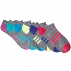 Adidas Youth Kids-Girl's Superlite No Show Socks (6 Pair) Multicolor -