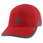 Adidas Men's Superlite Cap (Active Maroon/Dark Heather Grey) - Tennis Accessories