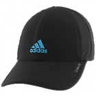 Adidas Women's Superlite Cap (Black/Active Teal) - Tennis Hats