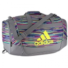 Adidas Defender II Small Duffel Bag (Skyler Shock Pink/Grey/Shock Slime/Black) - New Tennis Bags