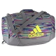 Adidas Defender II Small Duffel Bag (Skyler Shock Pink/Grey/Shock Slime/Black) - Brands