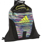 Adidas Rumble Sackpack (Skyler Shock Pink/Black/Shock Slime) - New Tennis Bags