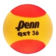 Penn QST 36 Red Foam Tennis Balls (3 Pack) - Training Brands