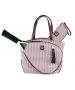 Court Couture Cassanova Tennis Bag (Merlot Houndstooth) - Tennis Tote Bags