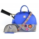 Court Couture Ella Court Bag (Azure) - Designer Tennis Bags - Luxury Fabrics and Ultimate Functionality