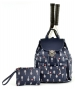 Court Couture Hampton Tennis Backpack (Midnight Printed) - Designer Tennis Backpacks
