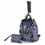 Court Couture Hampton Tennis Backpack (Midnight Printed)