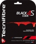 Tecnifibre Black Code 4S 18g (Set) - Tennis String