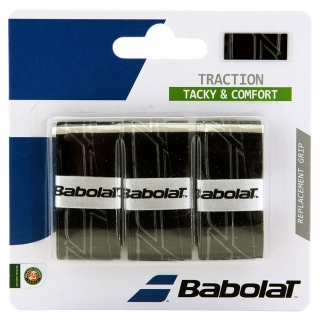 Babolat Traction Tennis Overgrip (3 Pack)
