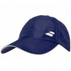 Babolat Basic Logo Tennis Cap (Dress Blue) -