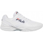 Fila Women's Axilus 2 Energized Tennis Shoes (White/White/Fila Navy) - Tennis Shoe Brands