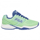 Fila Women's Axilus 2 Energized Tennis Shoes (Green Ash/Amparo Blue/White) - Tennis Shoe Brands