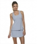 Bloq-UV Skort (Soft Gray) - Bloq-UV Tennis Apparel