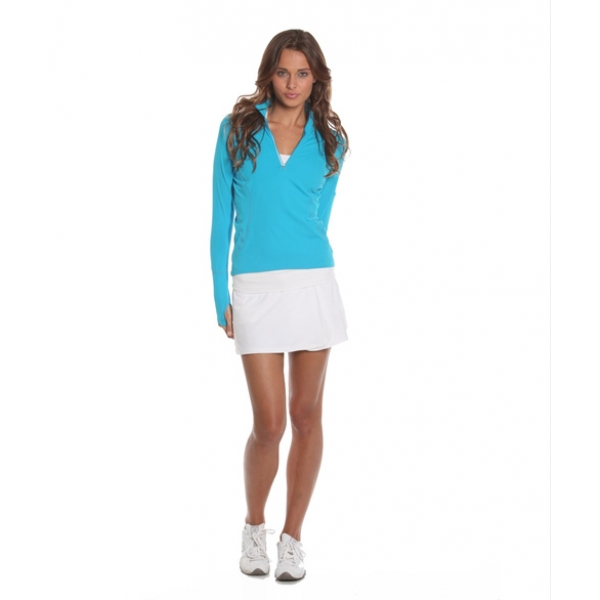 Bloq-UV Skort (White)