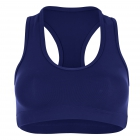 Sofibella Women's Racerback Sports Bra (Navy) - Women's Undergarments