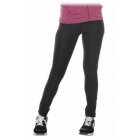 Bloq-UV Compression Long Tights (Black) - Women's Tennis Apparel
