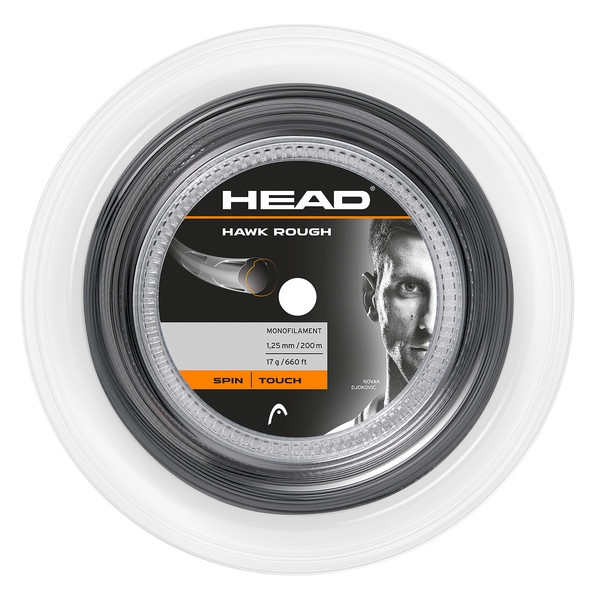 Head Hawk Rough Tour 17g Tennis String (660 ft Reel)