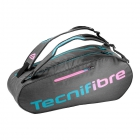 Tecnifibre T.Rebound 6R Tennis Bag (Grey/Pink/Teal) - Women's Tennis Backpacks
