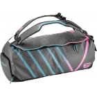 Tecnifibre T.Rebound Rackpack Tennis Bag (Grey/Pink/Teal) - NEW! Tecnifibre T-Rebound Racquets and Bags for Women