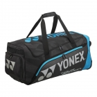 Yonex Pro Series Trolley Bag (Black/Infinite Blue) - No Budget. I Want the Best Tennis Gear