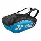 Yonex Pro Series 6-Pack Racquet Bag (Black/Infinite Blue) - New Yonex Racquets, Bags, Shoes