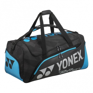 Yonex Pro Series Tour Tennis Travel Bag (Black/Infinite Blue)
