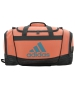 Adidas Defender II Small Duffel Bag (Sun Glow/Freerun Deepest Space) - Adidas Tennis Bags