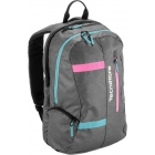 Tecnifibre T.Rebound Tennis Racquet Backpack (Grey/Pink/Teal) - Women's Tennis Backpacks