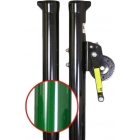 Douglas Sidewinder 2-7/8 Inch Tennis Post w/ External Wind (Green) -