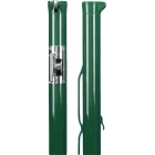 Douglas Premier XS Green Internal Wind Tennis Posts w/ Plated Gears - Tennis Court Equipment