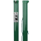 Douglas Premier XS Green Internal Wind Tennis Posts w/ Stainless Steel Gears - Tennis Court Equipment