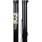 Douglas Premier XS Black Internal Wind Tennis Posts w/ Brass Gears - Internal Wind