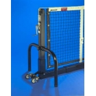 PPS-42SQ/T Douglas Portable Square Premier Tennis Post System w/ Transporter - Tennis Court Equipment