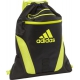 Adidas Rumble Sackpack (Black/Shock Slime) - Adidas Tennis Bags