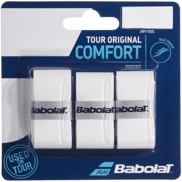 Babolat Tour Original White Tennis Racquet Overgrip