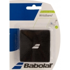 Babolat Wristband (Black) - Tennis Apparel Brands