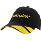 Babolat Microfiber Cap (Blk/ Ylw) - Babolat Hats, Caps, and Visors Tennis Apparel